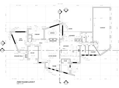 architectural millwork shop drawings California