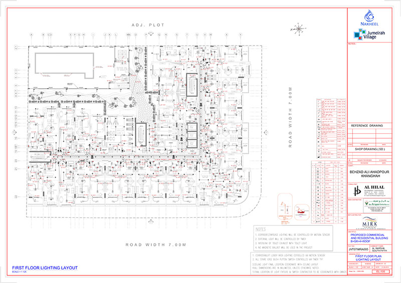 Electrical Engineering Services for 2D 3D Drafting, High & Low ...