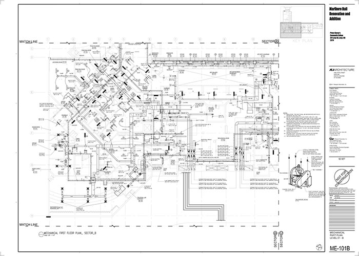 offshore hvac duct shop drawings texas
